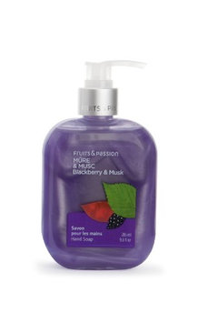 Fruits & Passion Fruity Blackberry and Musk Fragrance Hand Soap