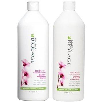 Biolage ColorLast Shampoo and Conditioner Liter Duo 33.8 Oz. (1 liter)