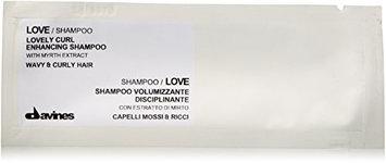 Davines Love Lovely Curl Enhancing Shampoo Sachet Kit for Unisex