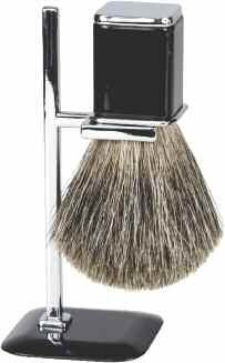 Harry D Koenig & Co Badger Shave Brush with Stand for Men