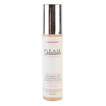 Delectable by Cake Beauty Radiance Boosting Lemon & Cream Hair & Body Mist