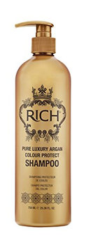 RICH Hair Care Pure Luxury Argan Color Protect Shampoo