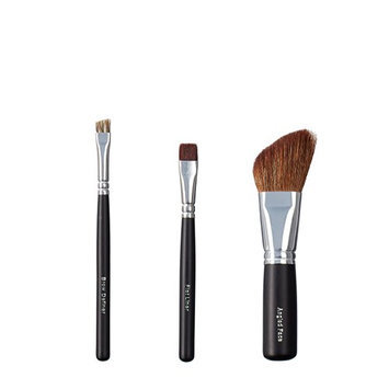 ON&OFF Trio Brow Definer/Flat Liner and Angled Face Brush