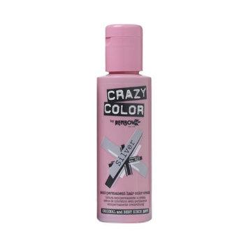 Crazy Color Semi Permanent Hair Color Cream Silver No.27 100ml
