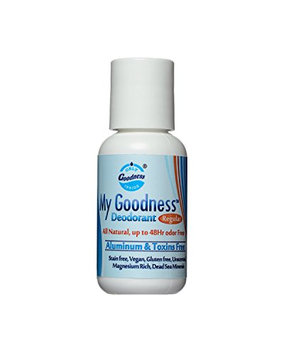 My Goodness Deodorant REGULAR. 1 Ounce. Truly All Natural. Completely toxins free. For Men