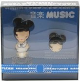 HARAJUKU LOVERS MUSIC 2 PCS SET: 1OZ EDT SP + SOLID PERFUME