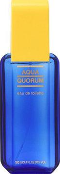 Aqua Quorum By Antonio Puig For Men. Eau De Toilette Spray 3.4 Ounces
