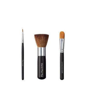 VEGAN LOVE Thin Liner Handi Flat Top Ultimate Concealer Brush Trio