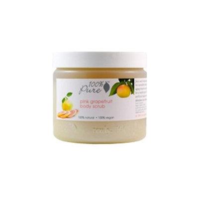 100% Pure Pink Grapefruit Body Scrub 15 oz - 15 oz