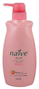 KRACIE Naive Conditioner Peach Pump Moist