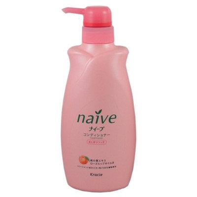 KRACIE Naive Conditioner Peach Pump Moist