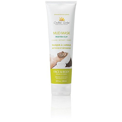 Creation's Garden Mud Mask Dead Sea Clay to Cleanse