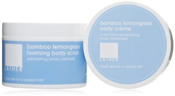 LATHER Bamboo Lemongrass Body Smoothing Duo