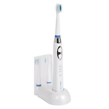 Bluestone 72-1006 Rechargeable Sonic Toothbrush with 10 Heads