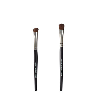 VEGAN LOVE The Chisel Collection Make Up Brush Set (Chisel Angle Fluff Chisel Pointed Fluff)