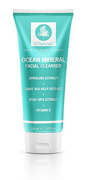 OZNaturals Facial Cleanser - This Natural Face Wash Is A Superior Cleanser That Deep Cleans & Unclogs Pores With Ocean Minerals