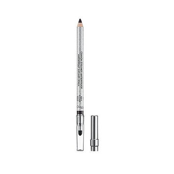 Christian Dior Dior Waterproof Eyeliner Long-wear Eyeliner Pencil With Blending Tip And Sharpener - Trinidad Black (#094) 0.04 Ounce (1.2g)  Brush