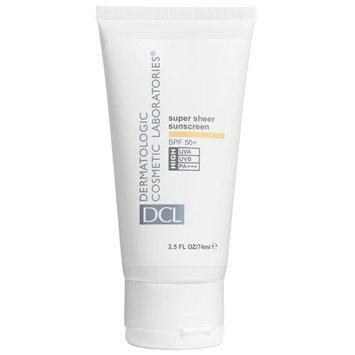 Dermatologic Cosmetic Laboratories SPF 50 Plus DCL Super Sheer Sunscreen