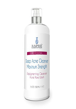 Raphe Pharmaceutiques Maximum Strength Deep Skin Acne Cleanser & Depigmenting Wash