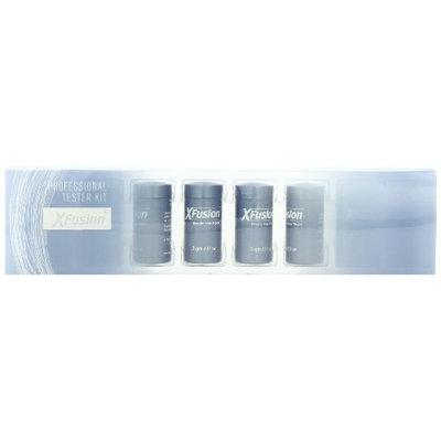 X Fusion 8 Piece Keratin Hair Fibers Professional Tester Kit