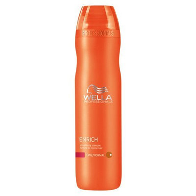 Wella Enrich Volumizing Shampoo for Fine To Normal Hair for Unisex