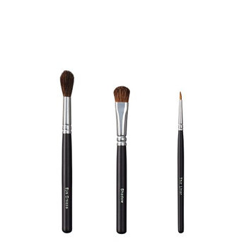 ON&OFF Trio Eye Crease/Shadow and Thin Liner Brush