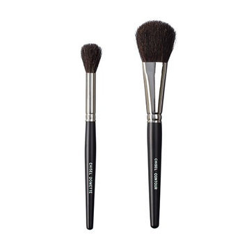 VEGAN LOVE The Chisel Collection Make Up Brush Set (Chisel Domette Chisel Contour)