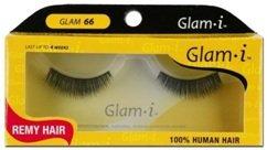 Glam-I 66 Full Strip Human Hair Eyelashes