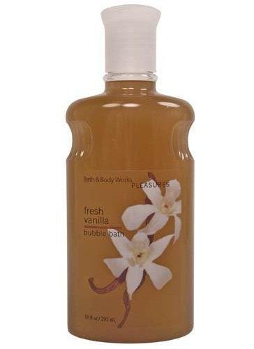 Bath & Body Works® Pleasures Fresh Vanilla Bubble Bath