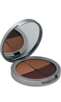 The Organic Face 100% All Natural Quad Eyeshadows - Downtown