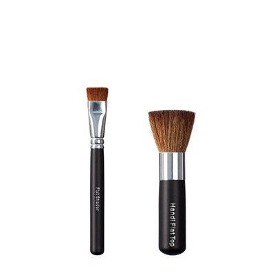 ON&OFF Flat Shader and Handi Flat Top Makeup Brush