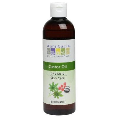 Aura Cacia Skin Care Oil - Organic Castor Oil - 16 Fl Oz