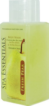 Spa Essentials Natural Body Wash with Aha's and Super Fruits