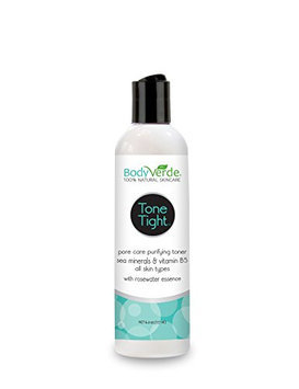 BodyVerde Tone Tight Daily Clarifying Toner and Make-Up Remover
