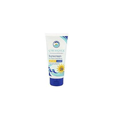 Stream2Sea Sunscreen for Face & Body Sport SPF 20