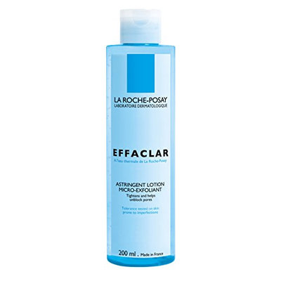 La Roche-Posay Effaclar Micro-Exfoliating Astringent Facial Toner to Visibly Tighten Pores