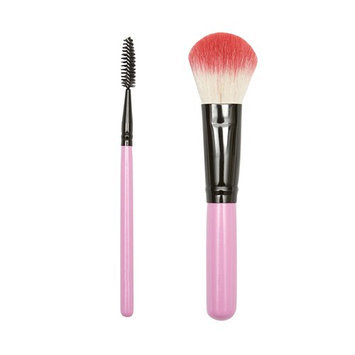 ON&OFF PINKLOVE BRUSH COLLECTION Spoolie and Large Crease Brush