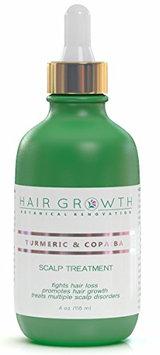 Hair Growth Botanical Renovation Anti-hair Loss Hair Oil Scalp Treatment 4 0z / 120 Ml Extra Strong Ayurvedic Formula Turmeric and Copaiba