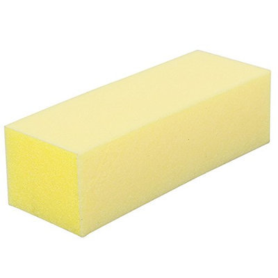 For Pro Yellow Pedicure Block 220/220 Grit