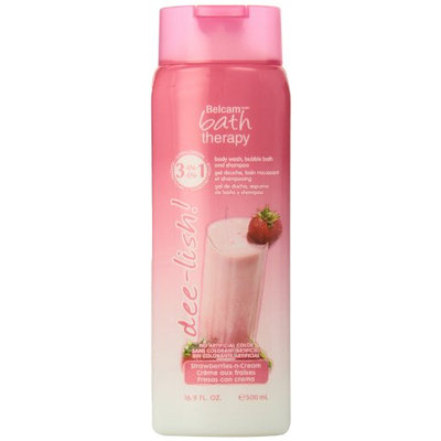 Belcam Bath Therapy 3-In-1 Strawberries and Cream Body Wash