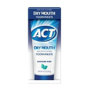Accu-chek Compact Plus Act Dry Mouth Anticavity Fluoride Toothpaste