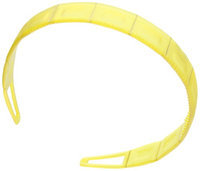 Caravan Boxed Designed Headband Fashion Colors With Hand Painted Gold Decoration