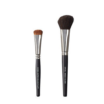 VEGAN LOVE The Chisel Collection Make Up Brush Set (Super Deluxe Fluff Chisel Angle Blush)