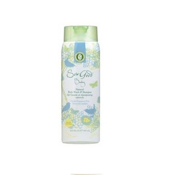 Sow Good Fragrance Free Baby's Natural Body Wash and Shampoo