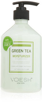 Voesh Green Tea Moisturizer for Body and Hands with Pump