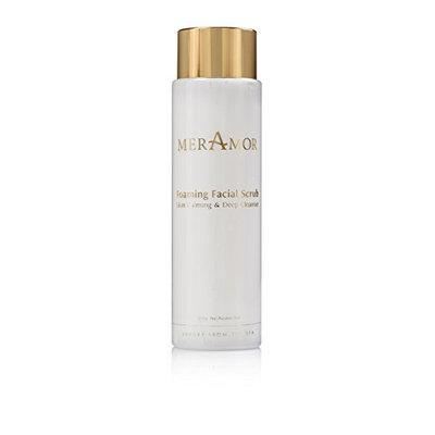 MerAmor Foaming Facial Scrub Skin Calming and Deep Cleanser