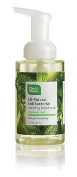Cleanwell All Natural Anti Bacterial Foaming Hand Soap