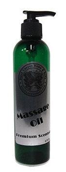 Black Canyon Scented Massage Oil 8 Ounce Pump (Invigor (Coconut Lime & Verbena))