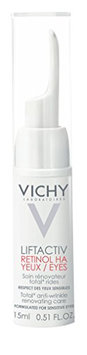 Vichy LiftActiv Retinol HA Eyes Anti-Aging Retinol Eye Cream with Hyaluronic Acid