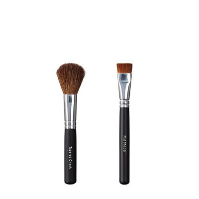 ON&OFF Tapered Cheek and Flat Shader Makeup Brush